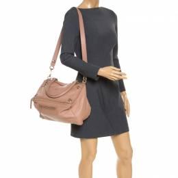 Givenchy Nude Leather Large Pepe Pandora Bag 239038