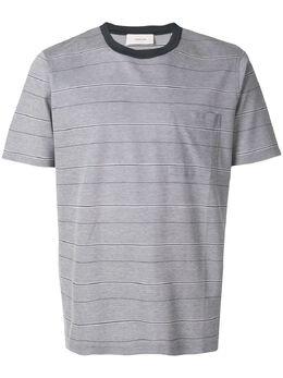 Cerruti 1881 полосатая футболка с нагрудным карманом C3570EI27094