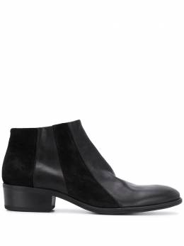 Fiorentini + Baker panelled low-rise ankle boots COBEBI