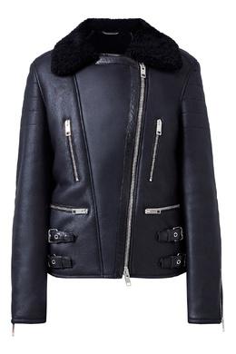 Куртка из овчины с декором из кристаллов Ermanno Scervino 1328162249