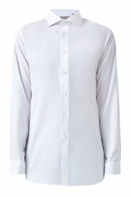 Белая рубашка на пуговицах Canali 1793162361