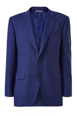 Костюм-двойка синего цвета Canali 1793162264