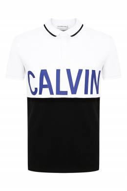 Рубашка-поло в стиле колор-блок Calvin Klein Kids 2815164066