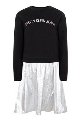 Комбинированный костюм-двойка на девочку Calvin Klein Kids 2815164146