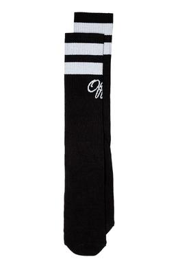 Черные носки с контрастной отделкой Off-White 2202164435