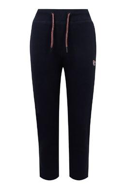 Черные спортивные брюки с цветным шнурком Tommy Hilfiger Kids 2646164200