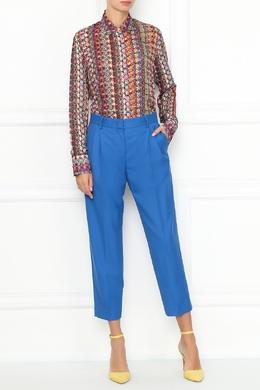 Красная блуза с принтом Paul Smith 1924164306