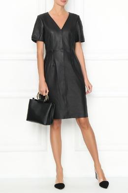 Черное кожаное платье Paul Smith 1924164296