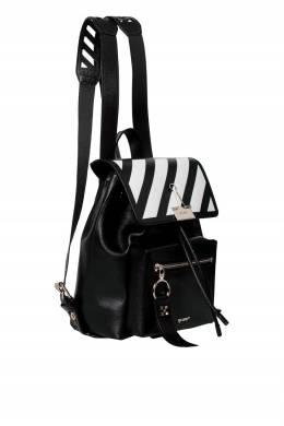 Черный рюкзак с контрастной отделкой Off-White 2202165156
