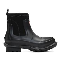 Stella McCartney Black Hunter Edition Rain Boots 596452 W1UL1