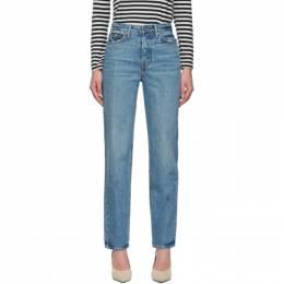 Grlfrnd Blue Mica Jeans 192966F06903101GB