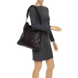 Givenchy Black Leather Nightingale Shoulder Bag 235935