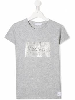 Calvin Klein Kids футболка с логотипом IG0IG00186006