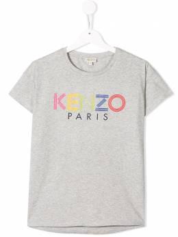 Kenzo Kids футболка с логотипом KP1016825