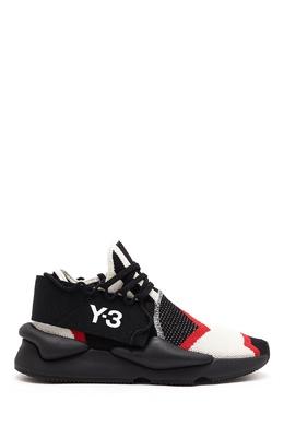 Текстильные кроссовки с контрастной отделкой Y-3 1044163946