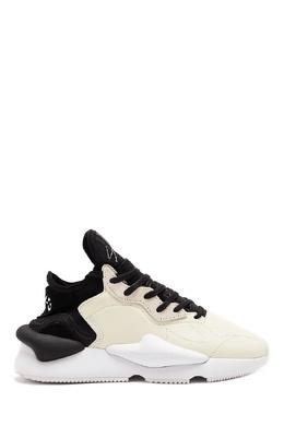 Комбинированные кроссовки с рельефными деталями Y-3 1044163945