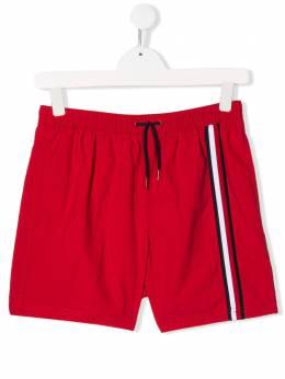 Tommy Hilfiger Junior шорты с контрастными полосками UB0UB001800