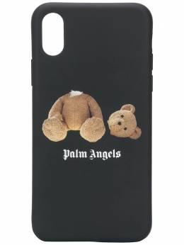 Palm Angels чехол Kill The Bear для iPhone X PMPA006F192760031088