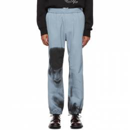 Undercover Blue A Clockwork Orange Alex Print Lounge Pants 192414M19000704GB