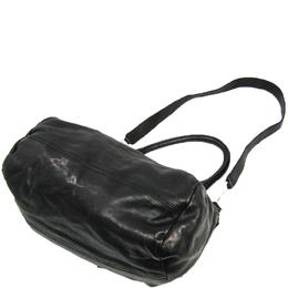 Givenchy Black Leather Pandora Flap Top Handle Bag 243431