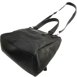 Givenchy Black Leather Pandora Flap Top Handle Bag 243432