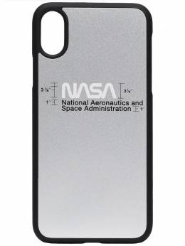 Heron Preston чехол для iPhone XS с принтом NASA HMPA003F197390189188