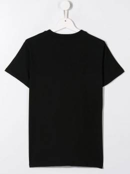 Msgm Kids футболка с логотипом 020707