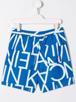 Calvin Klein Kids плавки-шорты с логотипом B70B700175311