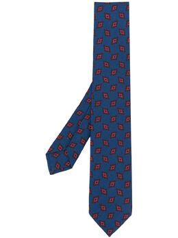 Barba галстук с геометричным узором LTIEC394