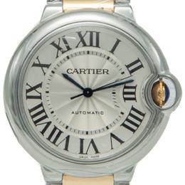 Cartier White Dial Ballon Bleu De Cartier Steel & Yellow Gold Women's Watch 36MM