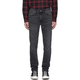 Nudie Jeans Grey Lean Dean Jeans 112778