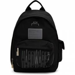 A-Cold-Wall* Black Hardware Backpack 192891M16600201GB
