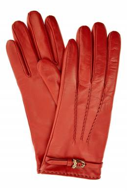 Красные кожаные перчатки Ermanno Scervino 1328162322
