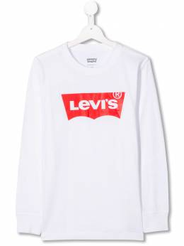 Levi's Kids TEEN logo-print long sleeved T-shirt NP10117T