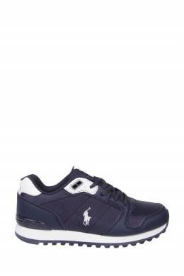 Синие с белым кроссовки Ralph Lauren Kids 1252165606