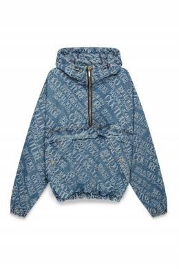 Голубой анорак из денима Versace Jeans 3025165811