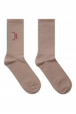 Серые носки с яркой вставкой A-Cold-Wall* 2876165660