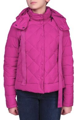 Сиреневая куртка с отстегивающимся капюшоном Armani Jeans 1742165652