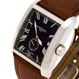 Raymond Weil Black Stainless Steel Don Giovanni 2875 Men's Wristwatch 35 mm 245679