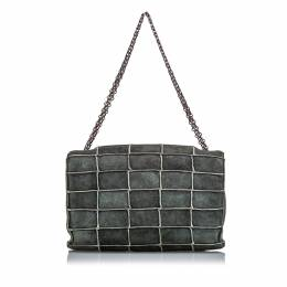 Chanel Gray Suede Reissue 225 Patchwork Flap Bag 242695