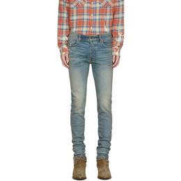 Amiri Indigo Stack Jeans S0M01101SD
