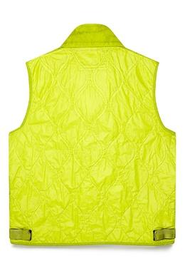 Неоново-зеленый жилет с карманами C.P. Company 1929166224