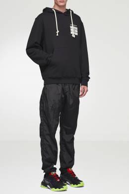Черное худи с отделкой Maison Margiela 1350165496