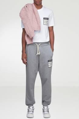Серые трикотажные брюки Maison Margiela 1350165498