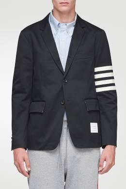 Пиджак с контрастной отделкой Thom Browne 2875165524
