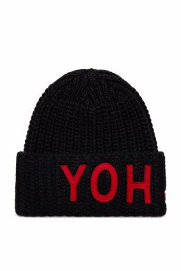 Черная вязаная шапка Y-3 1044166197