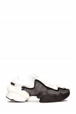 Белые кроссовки с черными вставками Y-3 1044166195