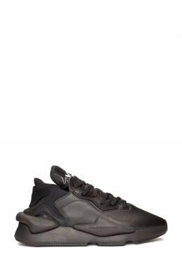Черные кроссовки из гладкой кожи Y-3 1044166194