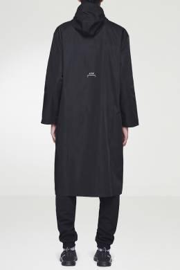 Черный плащ с мини-логотипами A-Cold-Wall* 2876165557