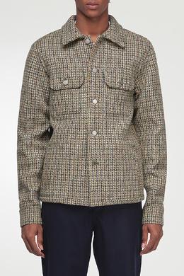 Куртка с фактурной отделкой Maison Margiela 1350165569